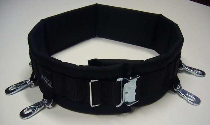 Björkis Hundförarbälte, med ringar och Bgb karbiner